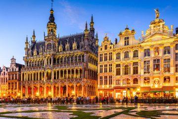 самолетни билети до Брюксел