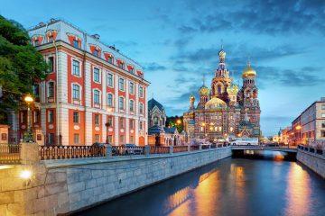 Самолетни билети до Санкт Петербург